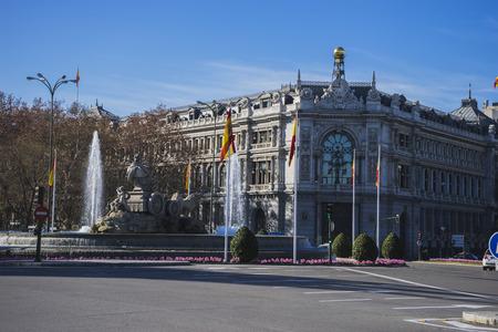 palacio de comunicaciones: Bank of spain in madrid