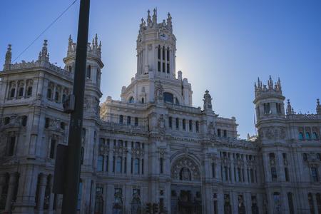 palacio de comunicaciones: Town Hall of Madrid, Spain