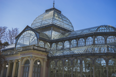 velazquez: Crystal Palace in the Retiro park Madrid, Spain