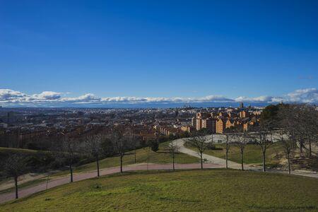 pio: Spain, Madrid skyline, views from Tio Pio Park