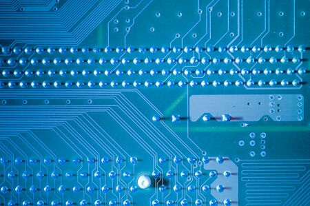 processor: Processor, Motherboard, computer and electronics modern background Stock Photo