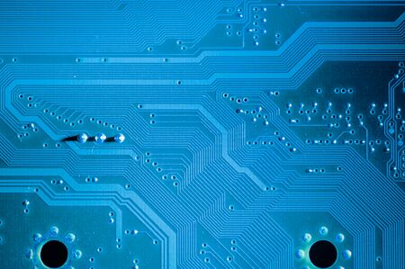 microchip: Microchip, Motherboard, computer and electronics modern background Stock Photo