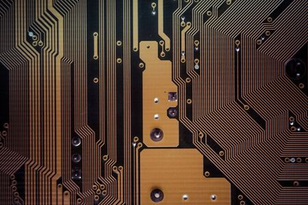 Processor, Motherboard, computer and electronics modern background Stock Photo