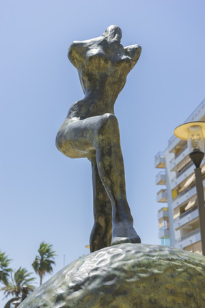 bronze sculptures by Dalí in Marbella Andalucia Spain