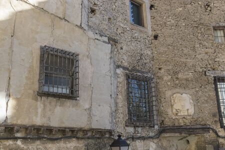 cuenca: Old and typical houses of the Spanish city of Cuenca,
