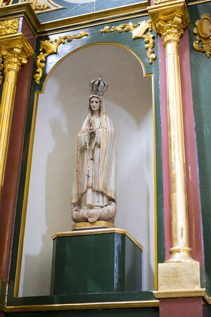 Worship, Heilige Week in Spanje, afbeeldingen van maagden en voorstellingen van Christus, scènes van geloof in kerken en tempels van aanbidding van het Christendom