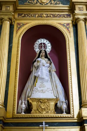 semana: Worship, Holy Week in Spain, images of virgins and representations of Christ, scenes of faith in churches and temples of worship of Christendom Editorial