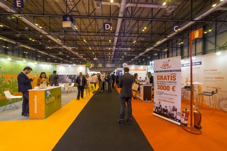 Madrid, Spain. 25 April 2018.Omexpo 2018 digital marketing fair, held in the Ifema pavilions of Madrid Editorial