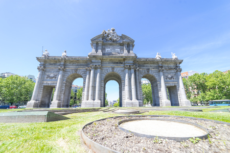 Puerta de Alcala: A Grand Monument to the Spanish Monarchs in Madrid, Spain, Europe