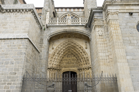 The Cathedral of Christ the Savior is a temple of catholic cult of the Spanish city of Ávila, episcopal headquarters of the same name, in Castile and Leon.