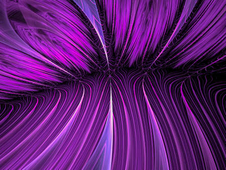 Creative background plant leaves, waves and sinuous shapes, decorative image for advertising or designs
