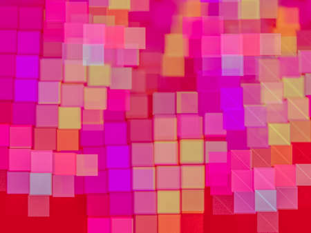 Creative background with colored squares as a mosaic, decorative image for advertising or designs