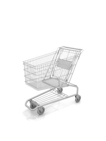 Empty shopping cart. Part of a series. Stock Photo - 6524689