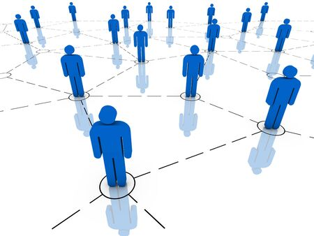 Global communications, teamwork, business organization and organized group concepts. Part of a series. Stock Photo - 6524690