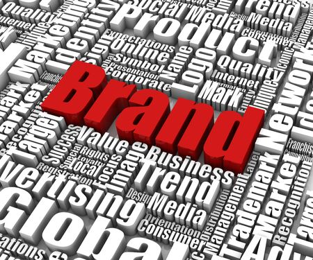 trademark: Brand related words. Part of a series of business concepts.