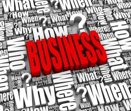 Group of business strategy related 3D words. Part of a series. Stock Photo - 9670810
