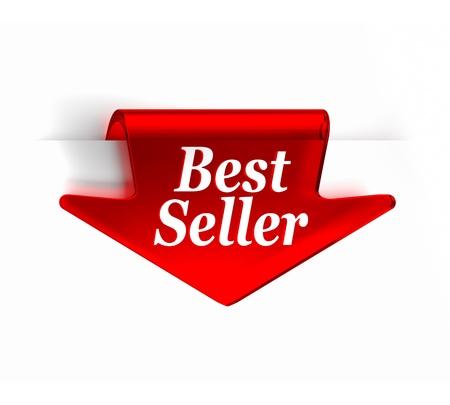 vendedores: Cristal rojo flecha arriba Guardar Parte de una serie Foto de archivo
