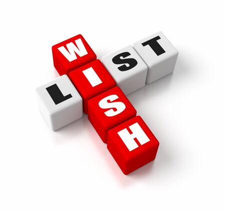 three wishes: Wish List crosswords  Part of a business concepts series