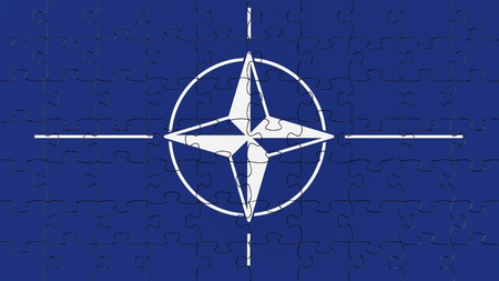 nato: Complete flag jigsaw puzzle.