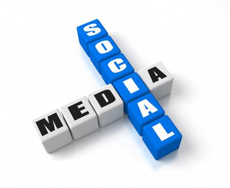 Social Media crosswords photo