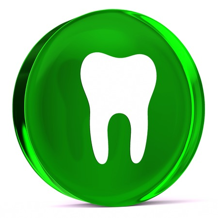 mucosa: Round glass icon with white health care sign or symbol