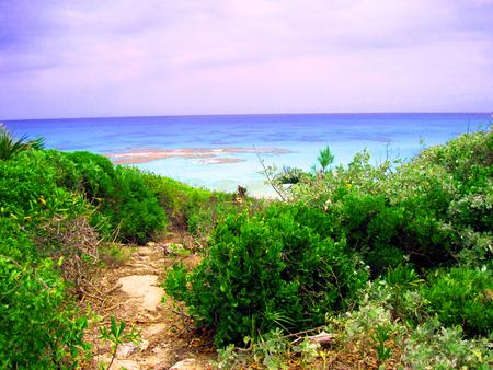 cruising: Bahamas paradise trail Stock Photo