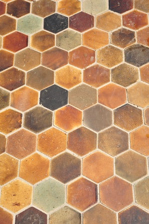 floor tiles: texture on the floor Stock Photo