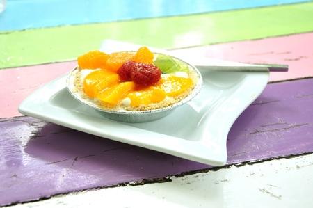 fruit pie photo