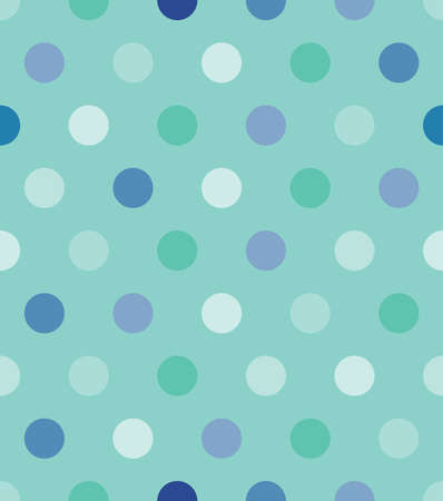 Mint round seamless pattern. Retro fabric ornament.Vector format. Vector