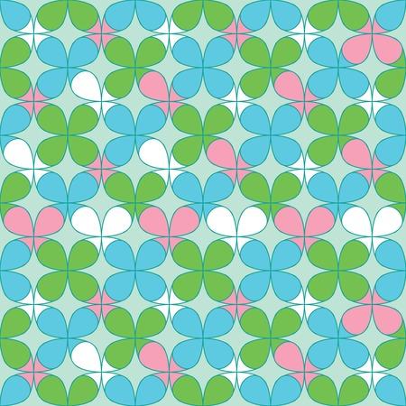 seamless clover: Clover Seamless Pattern for St. Patricks day