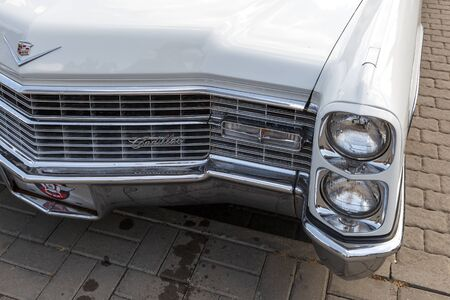 ROSTOV-ON-DON, RUSSIA, 07 OCTOBER 2017: Cadillac Coupe de Ville at the retro car show Editorial