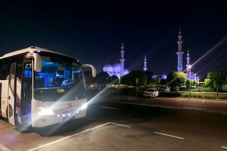 ABU DHABI, UAE, JANUARY 10, 2019: Sheikh Zayed Grand Mosque