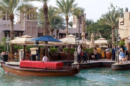 DUBAI, UAE, JANUARY 13, 2019: Madinat Jumeirah Redactioneel