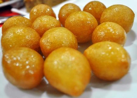 comida arabe: dulces orientales Foto de archivo