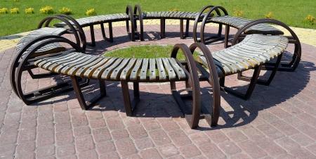 creative bench photo