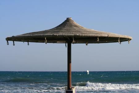 Rope beach umbrella