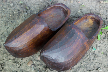klompen: Handmade wooden clogs, photography