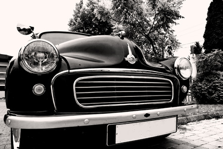 Zrenjanin ;Serbia; 10.09.2016.Morris Minor 1000 on exhibition of old cars ;  Morris Minor 1000