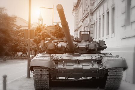 Zrenjanin ; Serbia ; 09.05.2016.Armored Battle Tank Redakční