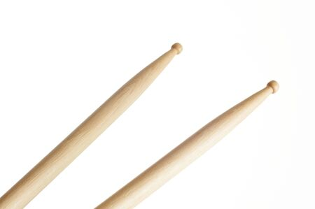percussionist: drum sticks Stock Photo