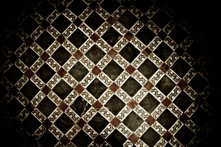 floor background - east romb pattern photo