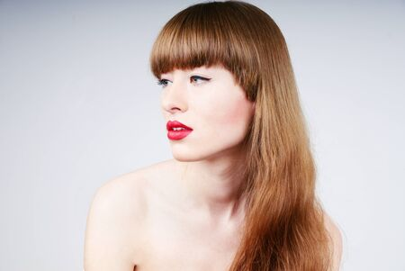 sexy womans glamour portrait photo