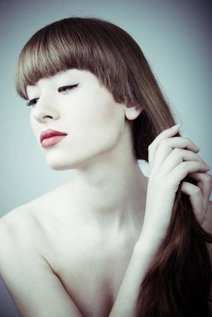 sexy woman's glamour portrait Stock Photo - 9068970