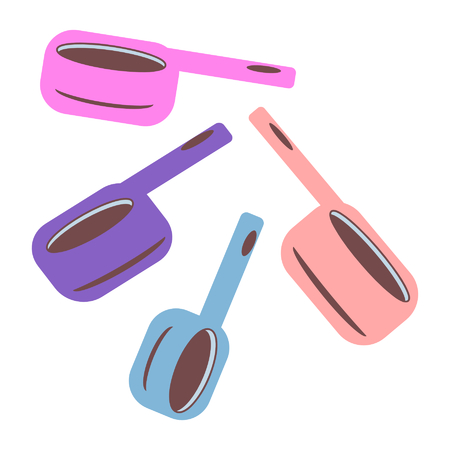 set of measuring cups