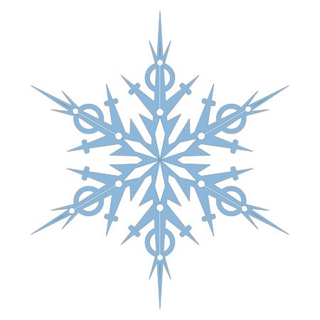 single snowflake Ilustração
