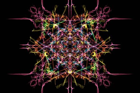 Elegant abstract background design. Silk symmetry series.