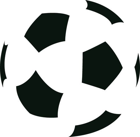 Football icon vector illustration.