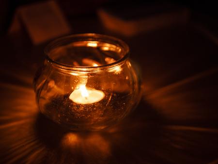 christmas candle light Zdjęcie Seryjne