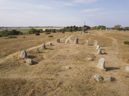 historic Viking cemetery