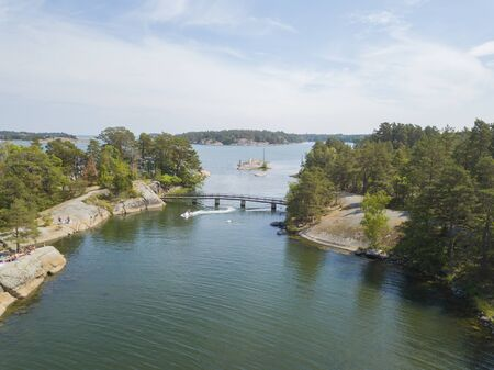 Swedish archipelago islands Zdjęcie Seryjne